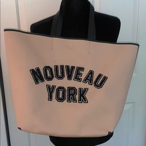 Kate Spade Beauty Nouveau York Beige tote bag